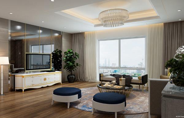 Hà Nội Paragon nội thất xứng tầm căn hộ cao cấp - 1