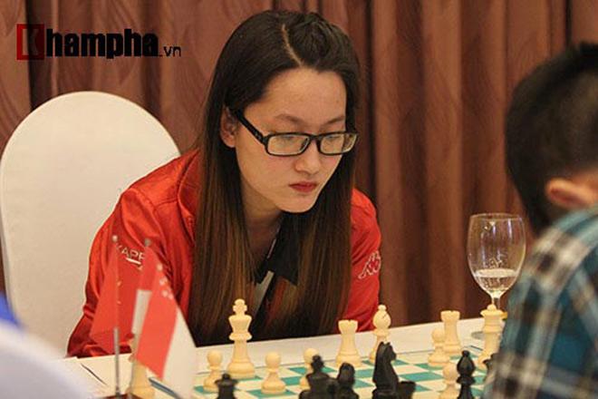 Hoa khôi cờ vua số 1 Việt Nam đả bại 2 kỳ thủ nam ở giải quốc tế 2018 3
