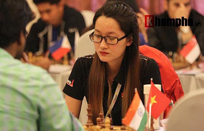 Hoa khôi cờ vua số 1 Việt Nam đả bại 2 kỳ thủ nam ở giải quốc tế 2018 2