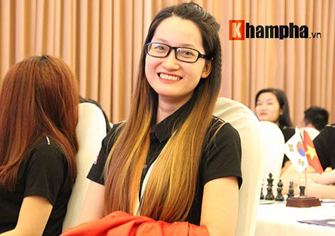 Hoa khôi cờ vua số 1 Việt Nam đả bại 2 kỳ thủ nam ở giải quốc tế 2018