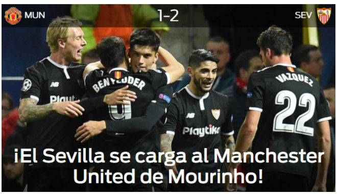 MU bị loại Cúp C1: Báo chí Anh cay nghiệt mắng Mourinho hèn nhát 6