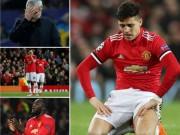 Bóng đá - MU bị loại Cúp C1: Báo chí Anh cay nghiệt mắng Mourinho hèn nhát