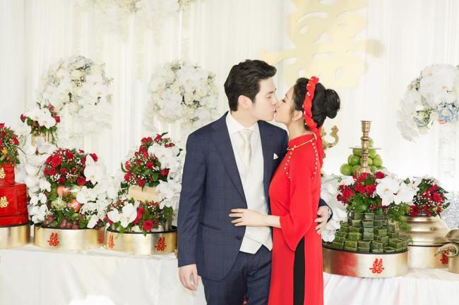 Mai Hồ công khai loạt ảnh đính hôn chồng trẻ kém 4 tuổi - 2