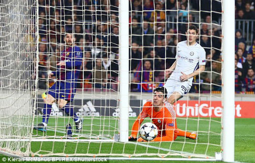 TRỰC TIẾP Barcelona - Chelsea: Messi chói sáng, Barca có bàn thứ ba 20