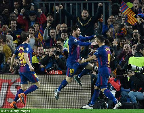 TRỰC TIẾP Barcelona - Chelsea: Messi chói sáng, Barca có bàn thứ ba 21