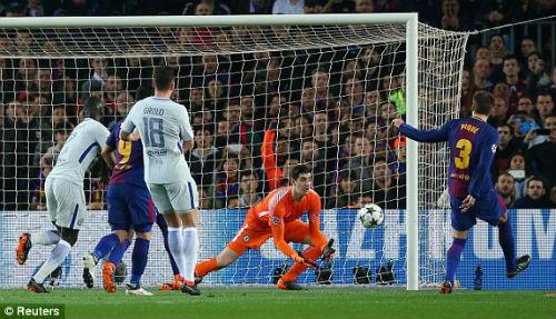 TRỰC TIẾP Barcelona - Chelsea: Messi chói sáng, Barca có bàn thứ ba 26