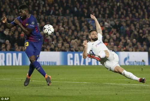 TRỰC TIẾP Barcelona - Chelsea: Messi chói sáng, Barca có bàn thứ ba 24
