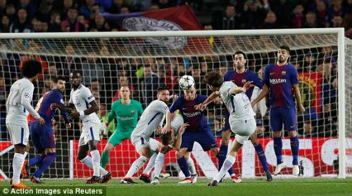 TRỰC TIẾP Barcelona - Chelsea: Messi chói sáng, Barca có bàn thứ ba 25