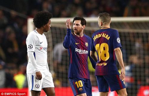TRỰC TIẾP Barcelona - Chelsea: Messi chói sáng, Barca có bàn thứ ba 27