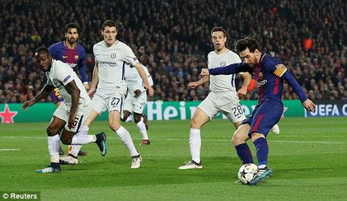 TRỰC TIẾP Barcelona - Chelsea: Messi chói sáng, Barca có bàn thứ ba 28