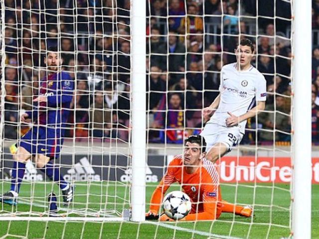 """Góc chiến thuật Barca – Chelsea: Messi đơn giản là """"vị Thánh"""" 4"""