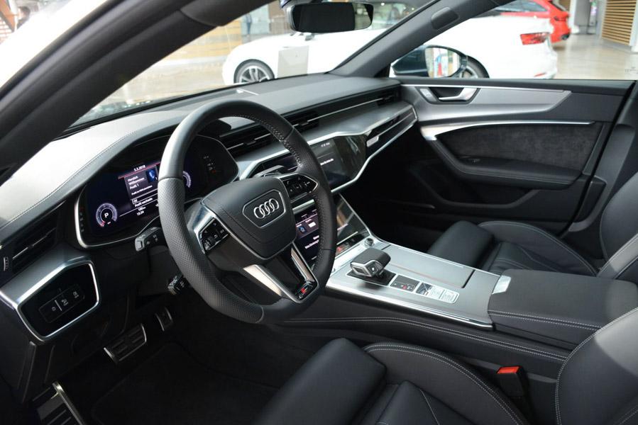 Mê mẩn với vẻ đẹp của Audi A7 Sportback 2019 màu sơn xanh xám - 3