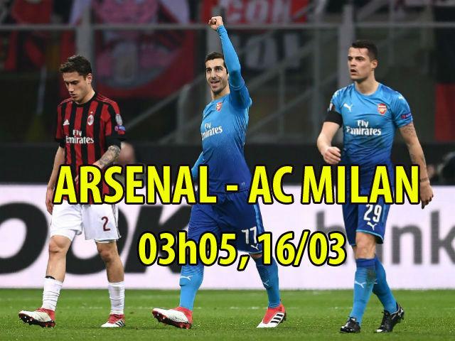 """TRỰC TIẾP bóng đá Arsenal - AC Milan: Lợi thế 2 bàn """"làm vốn"""" 20"""