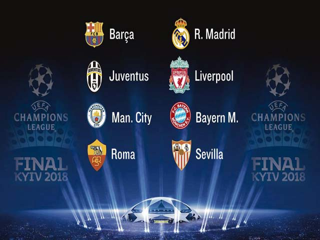 Bốc thăm tứ kết Cúp C1: Vua Ronaldo muốn trừng trị Barca – Messi 2