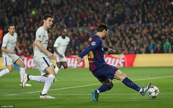 """Barca """"tiêu diệt"""" Chelsea lập kì tích, Messi điểm 10 hoàn hảo 1"""