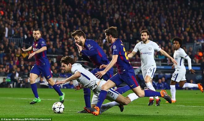 """Barca """"tiêu diệt"""" Chelsea lập kì tích, Messi điểm 10 hoàn hảo 7"""