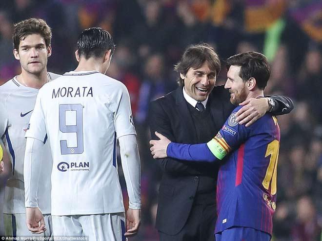 """Barca """"tiêu diệt"""" Chelsea lập kì tích, Messi điểm 10 hoàn hảo 10"""