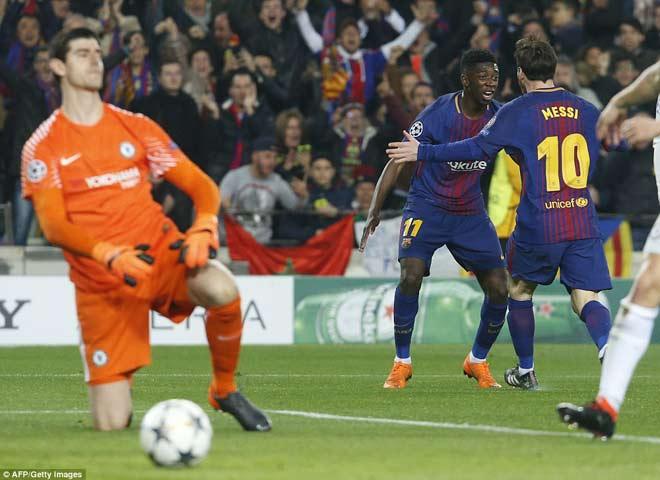 """Barca """"tiêu diệt"""" Chelsea lập kì tích, Messi điểm 10 hoàn hảo 4"""