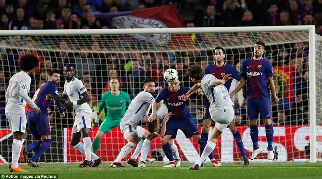 """Barca """"tiêu diệt"""" Chelsea lập kì tích, Messi điểm 10 hoàn hảo 6"""