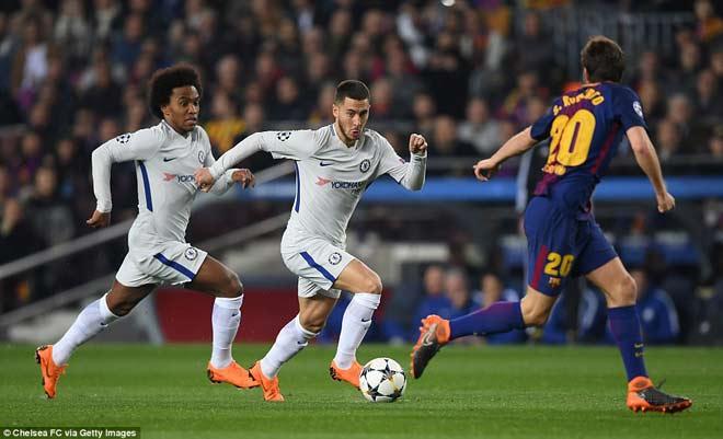 """Barca """"tiêu diệt"""" Chelsea lập kì tích, Messi điểm 10 hoàn hảo 8"""