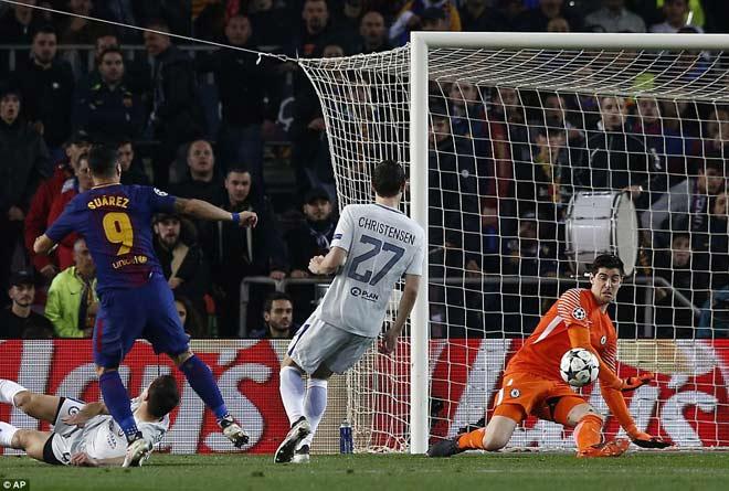 """Barca """"tiêu diệt"""" Chelsea lập kì tích, Messi điểm 10 hoàn hảo 9"""