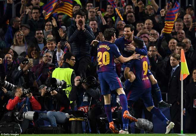 """Barca """"tiêu diệt"""" Chelsea lập kì tích, Messi điểm 10 hoàn hảo 11"""