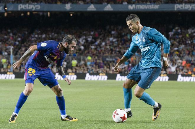 Bốc thăm tứ kết Cúp C1: Vua Ronaldo muốn trừng trị Barca – Messi 1