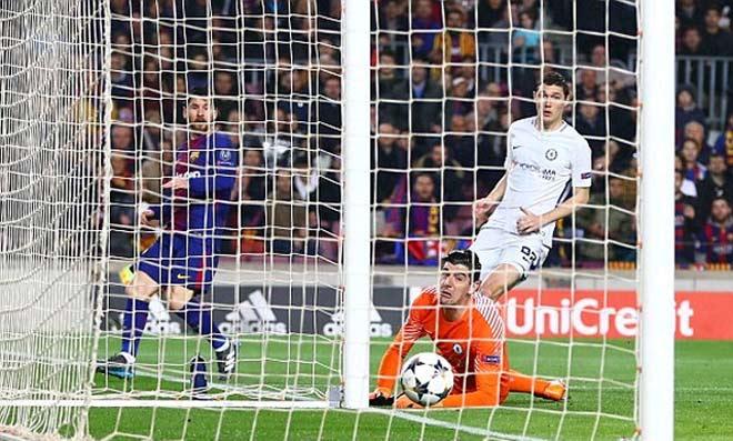 """Góc chiến thuật Barca – Chelsea: Messi đơn giản là """"vị Thánh"""" 1"""