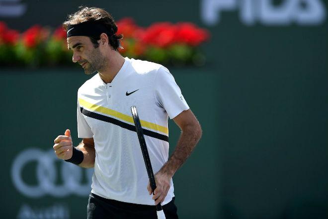Federer - Chardy: Một phút lơ là, trả giá đau đớn (vòng 4 Indian Wells) 1