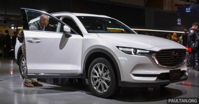 Mazda CX-8 ra mắt quý 2/2018, khả năng cao về Việt Nam - 1