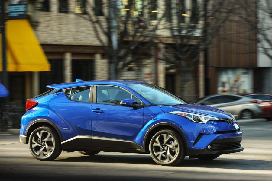 Toyota C-HR có giá từ 512 triệu đồng không thành công ở Mỹ