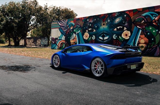 """Lamborghini Huracan cực """"lầm lì"""" với bản độ ADV - 1"""