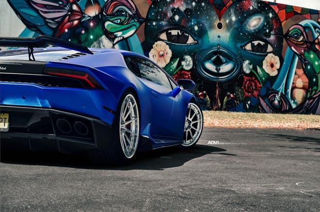 """Lamborghini Huracan cực """"lầm lì"""" với bản độ ADV - 5"""