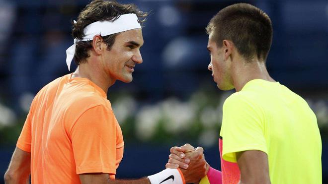 """Federer hạ gục Hyeon Chung: """"Thầy phù thủy"""" bóp nghẹt sao mai 2"""
