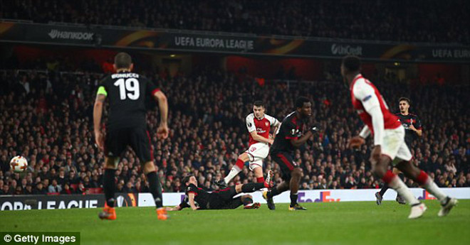 Arsenal - AC Milan: Đôi công hấp dẫn, ngược dòng ấn tượng 1