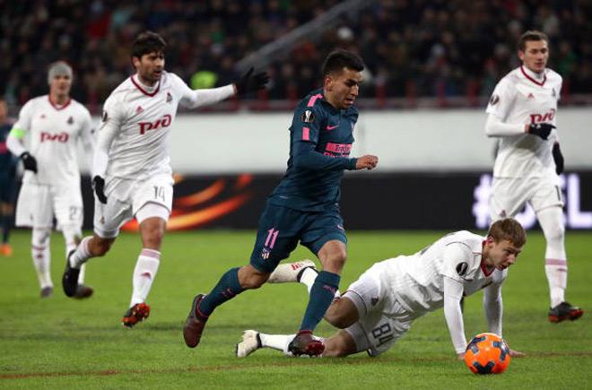 """Lokomotiv Moskva - Atletico Madrid: Dàn sao tấn công """"lên đồng"""""""