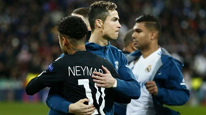 """Real & Điệp vụ thế kỷ: Ronaldo """"tế thần"""" PSG, Bóng vàng dụ Neymar 2"""