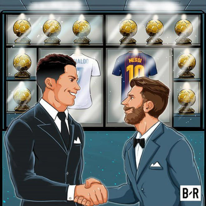 Ronaldo & Messi hùng bá trời Âu: Tranh vô địch C1, đua bóng vàng thứ 11 - 2