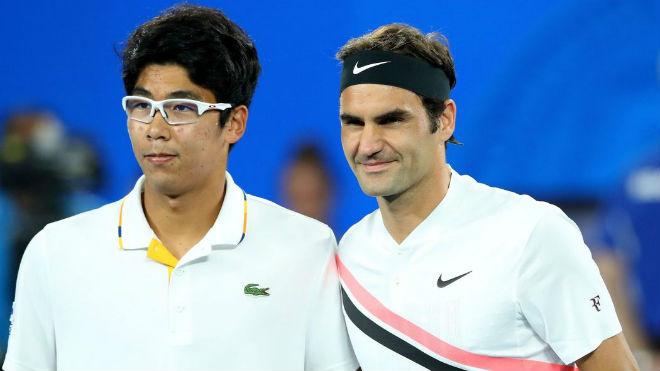 TRỰC TIẾP tennis Federer - Hyeon Chung: Tượng đài sừng sững 3