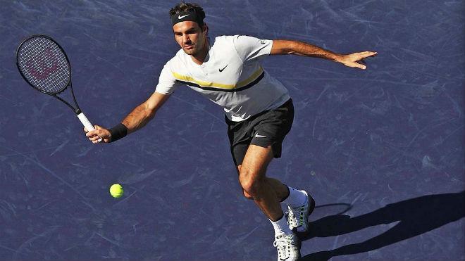 Indian Wells: Vua Federer chắc ngôi số 1, siêu kỉ lục vẫy gọi 1