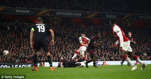 Chi tiết Arsenal - AC Milan: Welbeck hoàn tất cú đúp (KT) 25