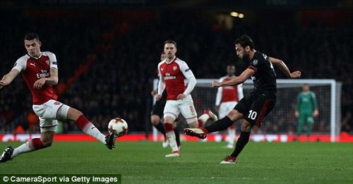 Chi tiết Arsenal - AC Milan: Welbeck hoàn tất cú đúp (KT) 21