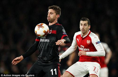 Chi tiết Arsenal - AC Milan: Welbeck hoàn tất cú đúp (KT) 20