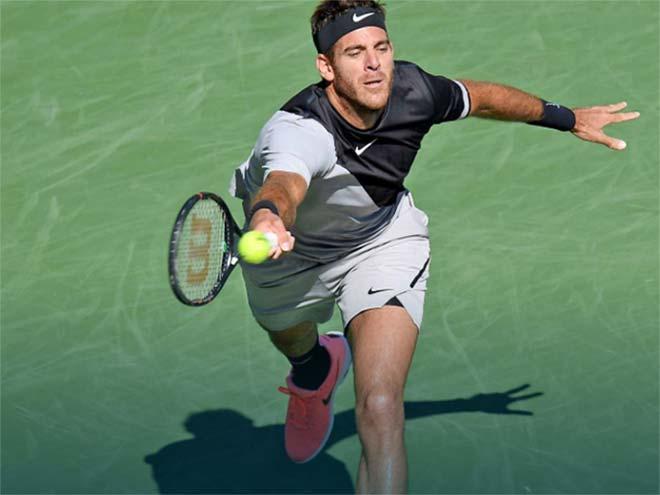 Del Potro - Raonic: Dạy dỗ 1 tiếng, hẹn gặp Federer 3