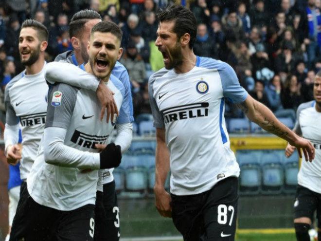 Sampdoria - Inter Milan: ( vòng 28 Serie A)