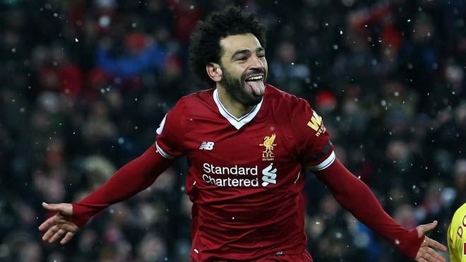 Salah lập poker lịch sử, tái hiện siêu phẩm Cúp C1 của Messi