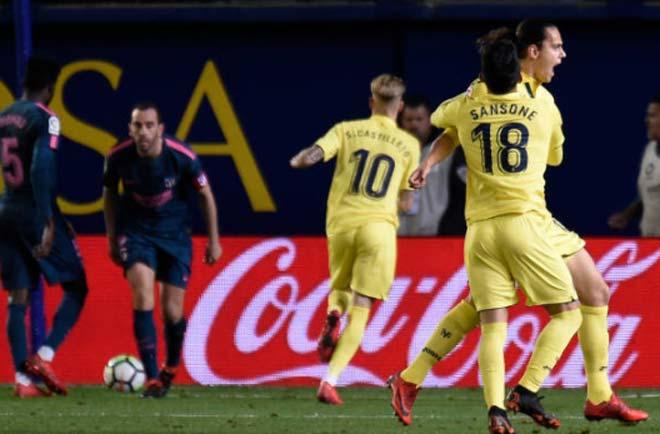 Villarreal - Atletico Madrid: (vòng 29 La Liga)
