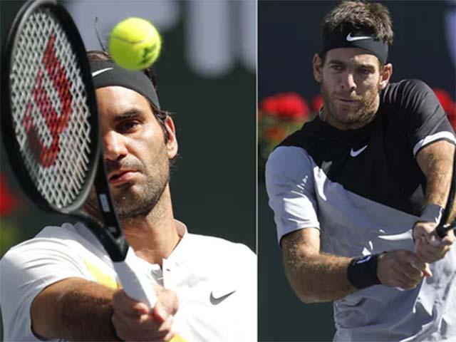 """Federer thua tiếc nuối: Báo chí gọi tên """"khắc tinh"""" Del Potro 4"""