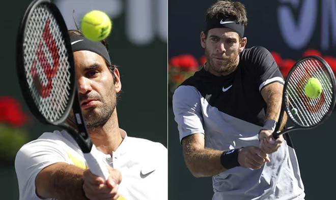 Federer - Del Potro: Hồi sinh kinh điển, nghẹn ngào đăng quang (Chung kết Indian Wells)