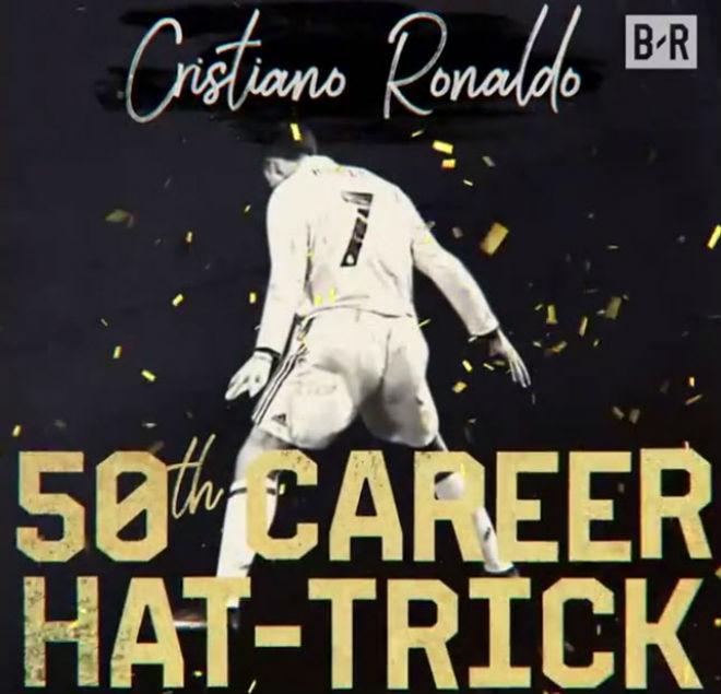 Ronaldo lập poker, cán mốc 50 hat-trick: Nhà vua vĩ đại, hùng bá châu Âu - 1